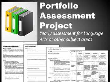 Portfolio Assessment Project for Middle and High School Language Arts