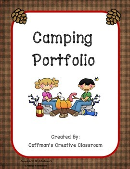 Portfolio- Camping Theme