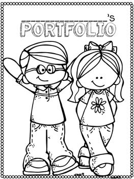 Portfolio Cover Pages *Freebie*