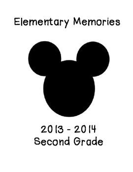 Portfolio Cover and Memory Page