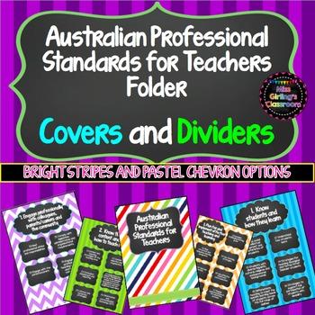 Portfolio Covers - Australian Professional Standards for Teachers