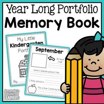 Portfolio Memory Book - Year Long Documentation
