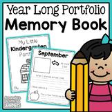 Portfolio Memory Book - Year Long Documentation