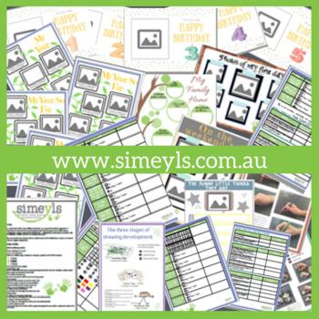 Portfolio Pack, Supports EYLF Australia