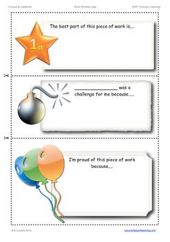 Portfolio Student Self-Reflection starters