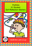 Portfolio Student Self-Reflection starters