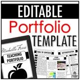 Portfolio Template | EDITABLE