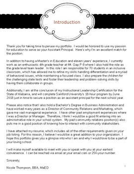 Portfolio for Job or Interview