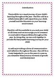 Portfolio introduction page
