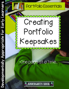 Portfolio Memory Book Keepsake: Measuring Growth One Sample at a Time
