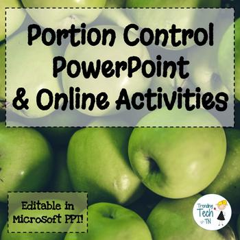 Portion Control Presentation - Fully Editable in Microsoft PowerPoint!