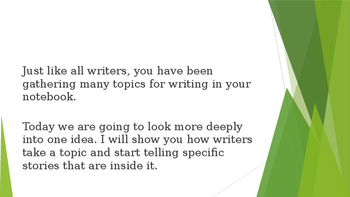 Portland PS Writing Launch Lessons 4,5,6 PPT
