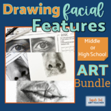 DRAWING AND SHADING FACIAL FEATURES/Art Lesson: Distance Learning