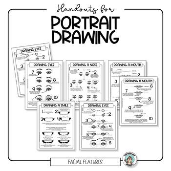 Portrait & Self Portrait Drawing Handouts