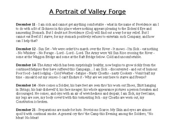 Portrait of Valley Forge