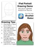 Portrait or Self-Portrait iPad Template or Handout