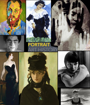 Fine Art Portraits - in both Painting & Photography - FREE POSTER