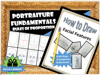 Portraits: Draw Facial Features w/ Rules of Proportion Pri