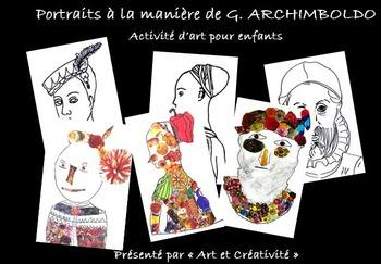 Portraits à la manière du peintre ARCHIMBOLDO-activité d'art