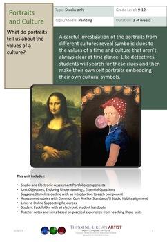 Portraits and Culture - Studio only unit