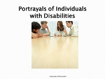 Portrayals of Individuals with Disabilities