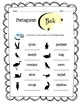 Portuguese Birds Worksheet Packet
