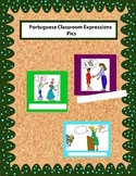 Portuguese Colored Classroom Expression Pics for Walls or Boards