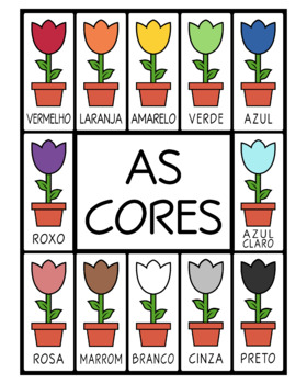 Portuguese Colors -  Flower Printables (High Resolution)