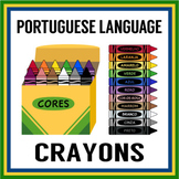 Portuguese Crayons Color Clip Art (High Resolution)