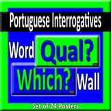 Portuguese & English Question Words/Interrogatives Word Wa
