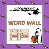 Portuguese Halloween Word Wall: O Dia das Bruxas (Pre-K to 1st)