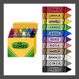 Portuguese Language Crayons (High resolution)