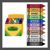 Portuguese Language Crayons (High resolution)