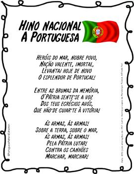 Portuguese National Anthem - Hino Nacional Português 'A Portuguesa'