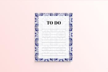Portuguese Tiles To Do List