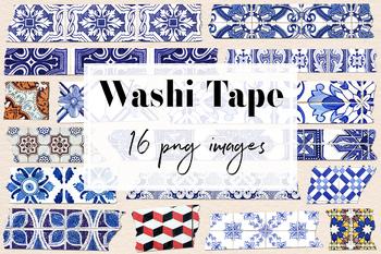 Portuguese Washi Tape