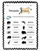 Portuguese Zoo Animals Worksheet Packet