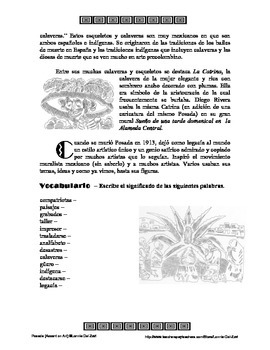 Posada- Accent on Art, Spanish Art Packets for the Spanish Classroom