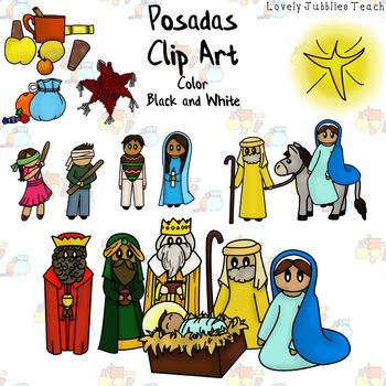 Posadas Themed Clip Art