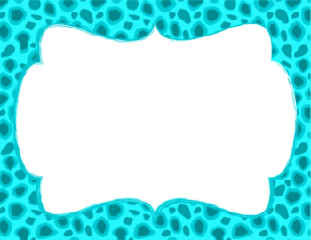 Posh Animal Print Clip Art Set for Commercial Use