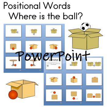 Positonal Words Where is the ball? PowerPoint