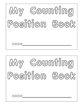 Position Counting Book