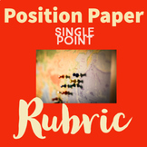 Position Paper Single Point Rubric