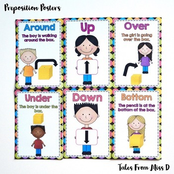 Preposition Posters