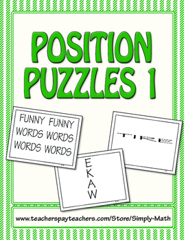 Position Puzzles #1