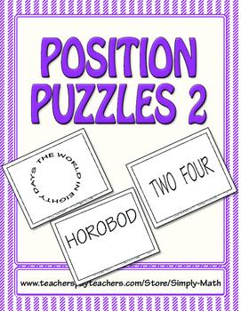 Position Puzzles #2
