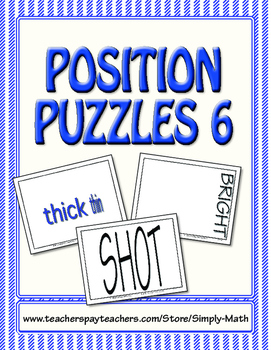 Position Puzzles #6