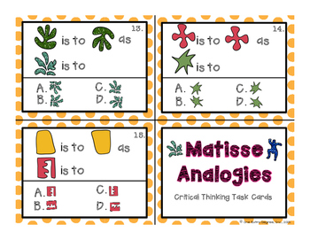 Position Puzzles: Critical Thinking Task Cards