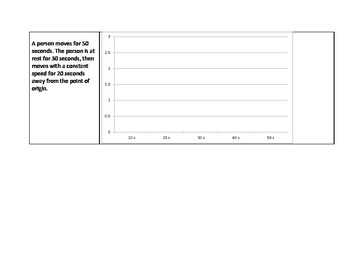 Position-Time Graph Activity