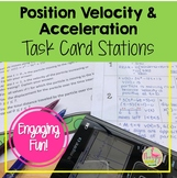 Calculus Position Velocity & Acceleration Stations Activit